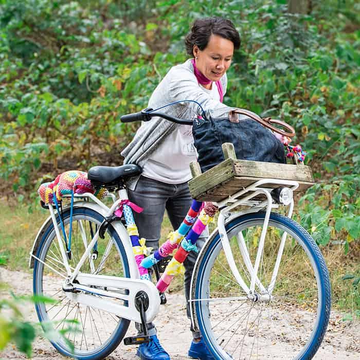 Joyce creatief visual specialist fiets
