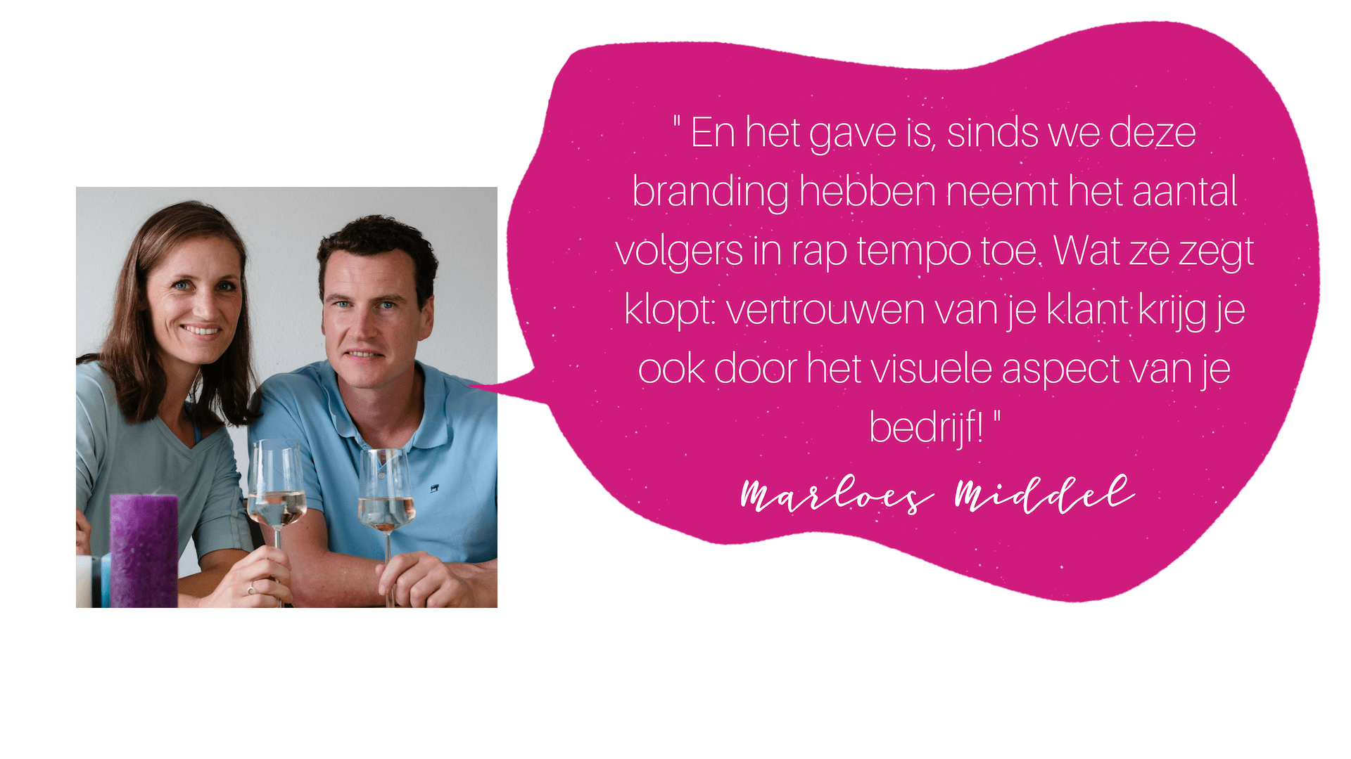 testimonial Marloes en Michiel COLOURFUL JOURNEY