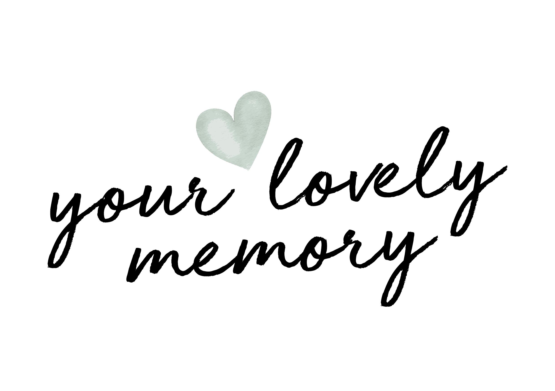 LOGO YOUR LOVELY MEMORY