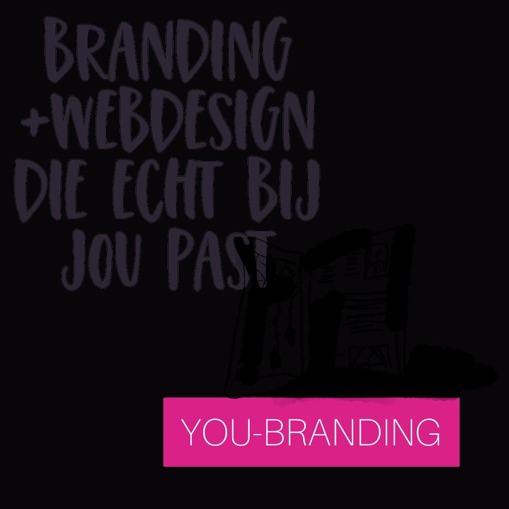 colourful journey branding en webdesign