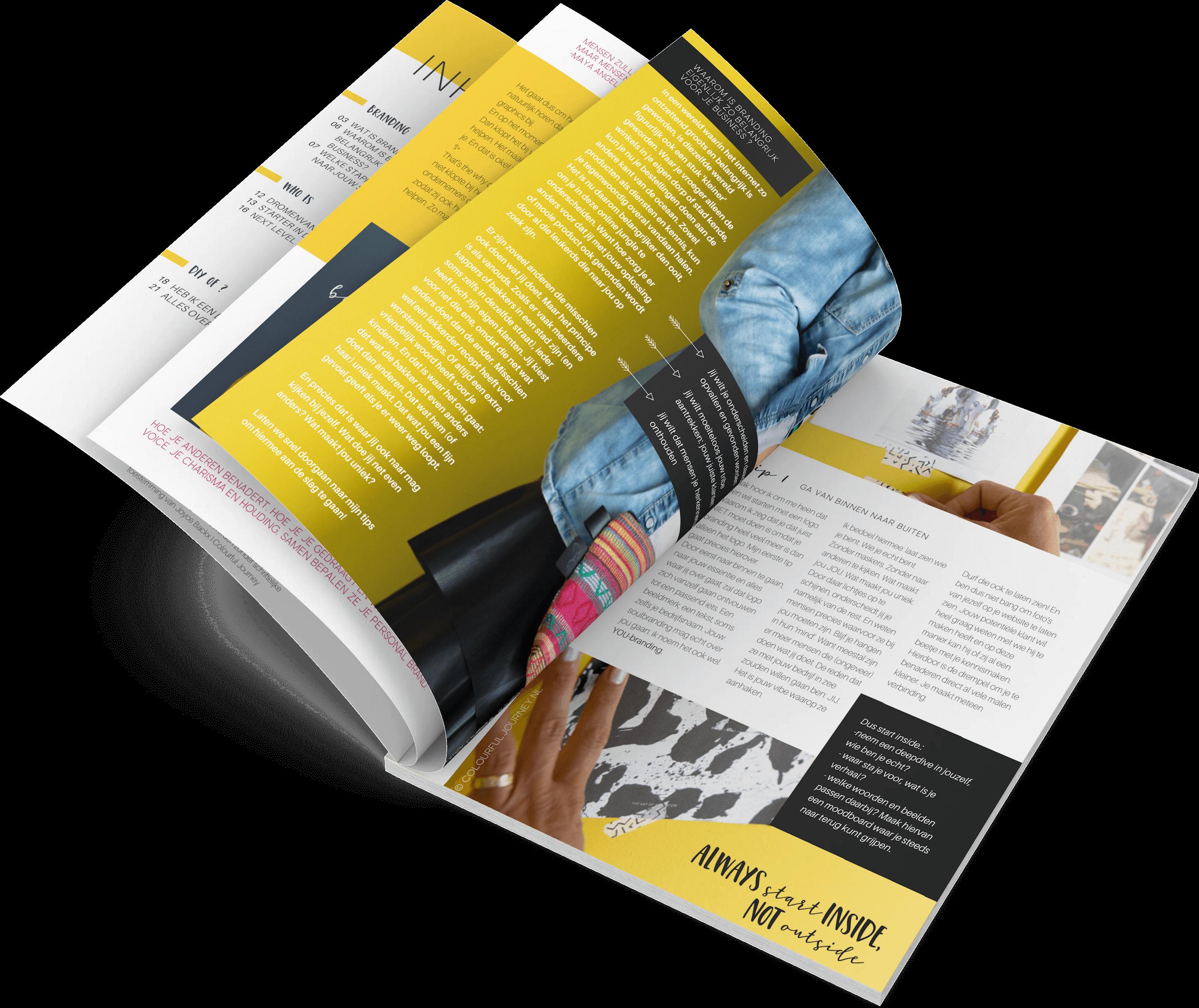 Het Branding Magazine 3d (inside preview)